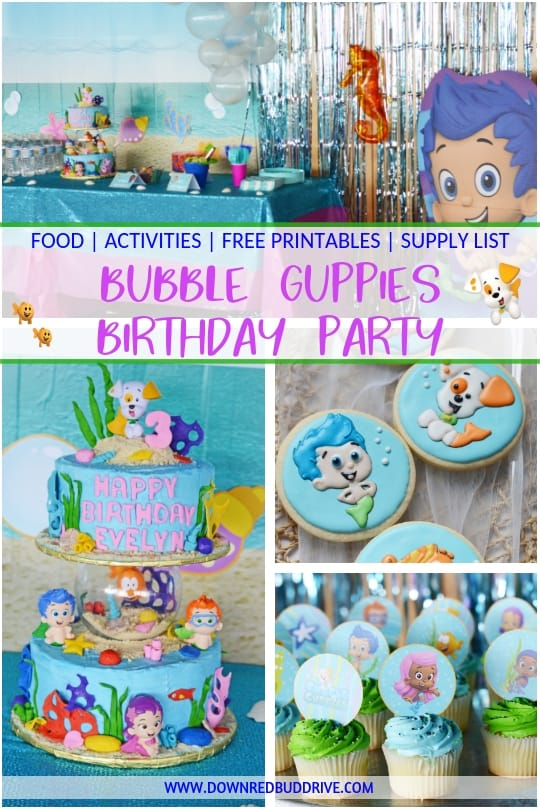 Awe Inspiring Bubble Guppies Birthday Bubble Guppies Birthday Party Ideas Birthday Cards Printable Trancafe Filternl