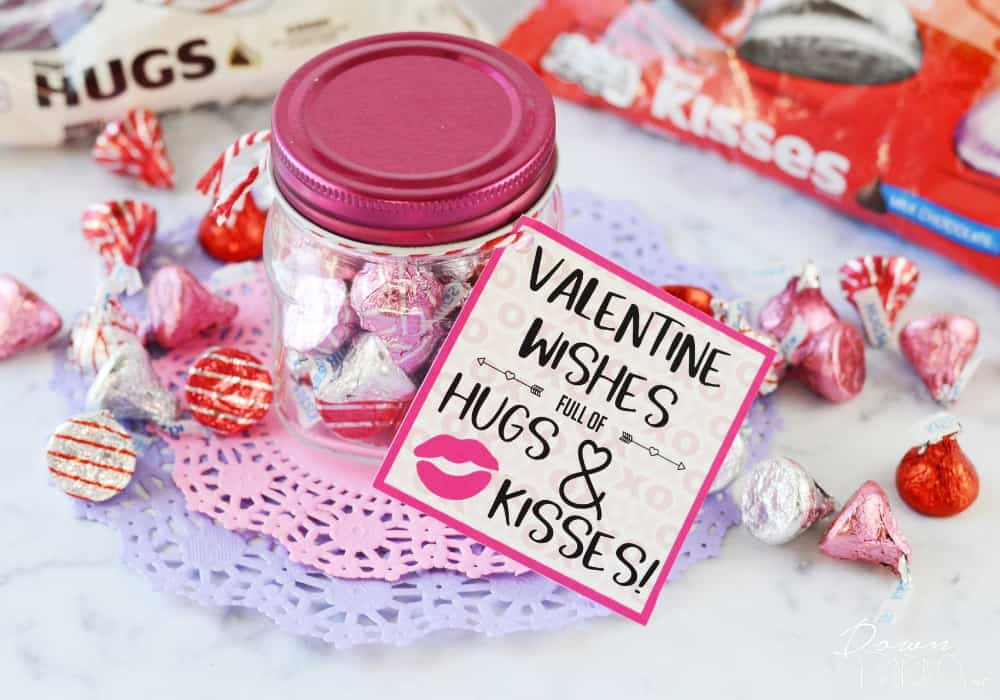 Hugs and Kisses Valentines