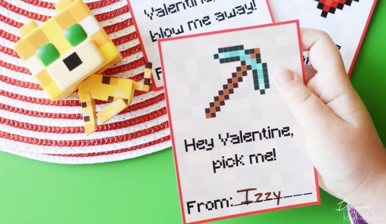 Printable Minecraft Valentines | Free Printable Valentines
