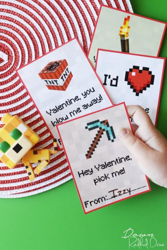 graphic regarding Minecraft Printable Valentines named Printable Minecraft Valentines Cost-free Printable Valentines