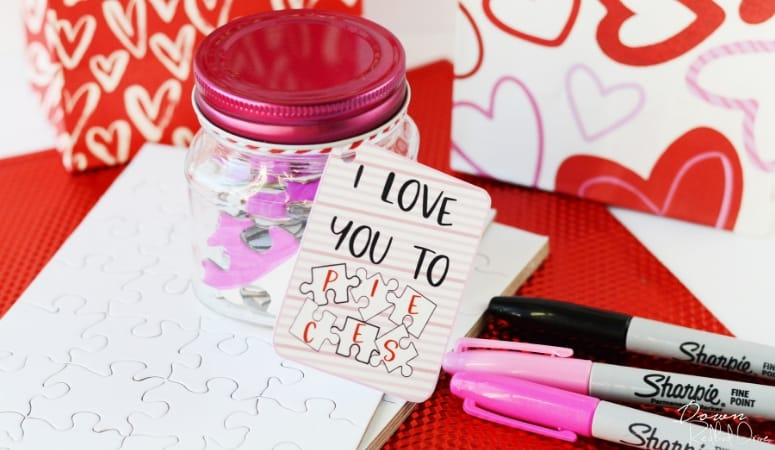 Puzzle Valentines | Free Printable Tags