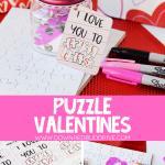 DIY Puzzle Valentines