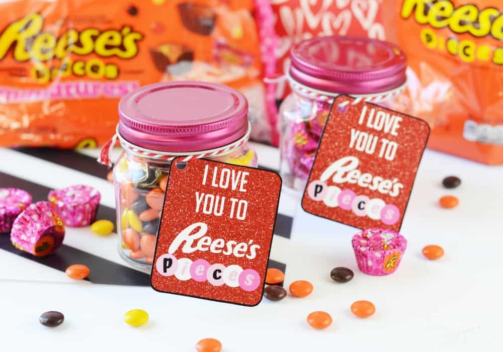 Reese's Pieces Valentines
