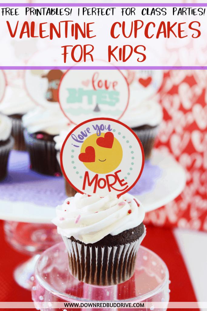 Valentine Cupcakes for Kids