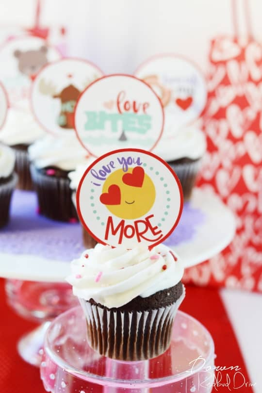 Valentine Cupcakes for Kids