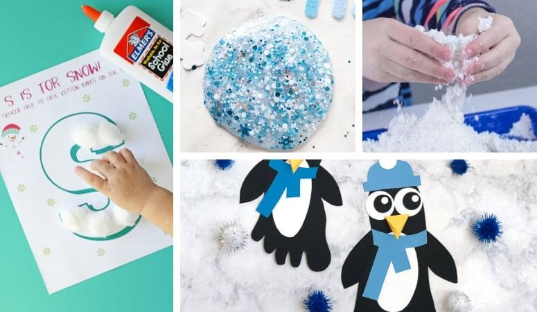 96 Kid's Winter Activities | Hands On Activities for Kids