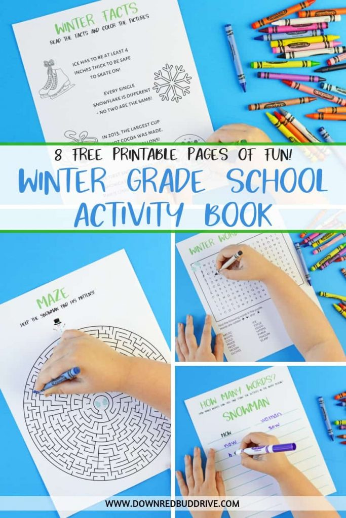 Printable Kid's Winter Activity Book