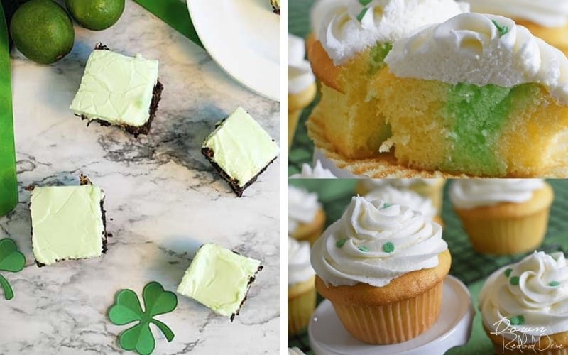 green food for st. patrick's day