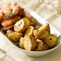 Rosemary Roasted Potatoes | Air Fryer Recipe