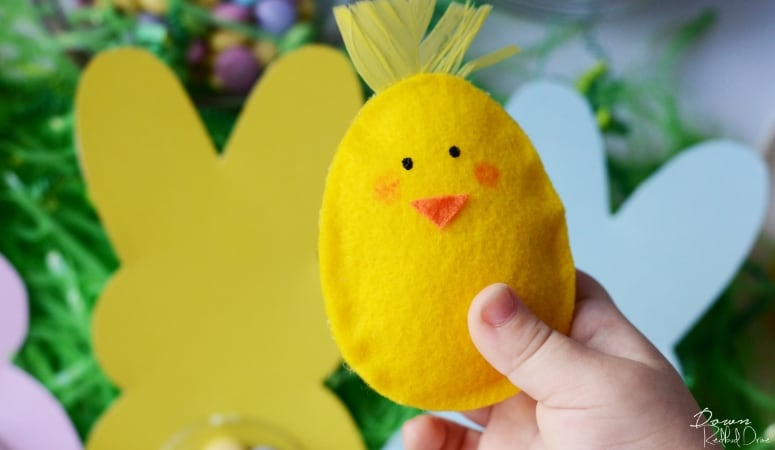 Easter Egg Chicks | No-Sew Pattern With Free Printable Template