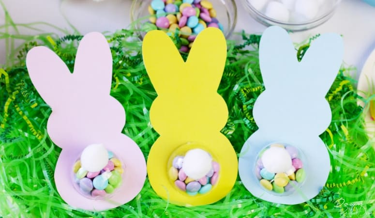 Bunny Butt Easter Treat | Free Printables