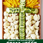 Cross Vegetable Tray