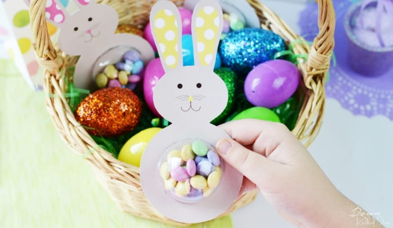 Easter Bunny Treats DIY | Free Printable Bunnies