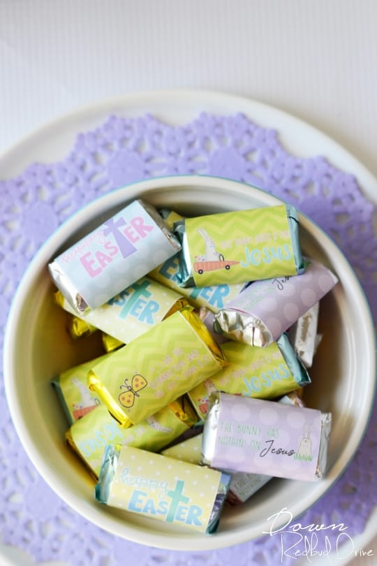 Printable Easter Candy Bar Wrappers