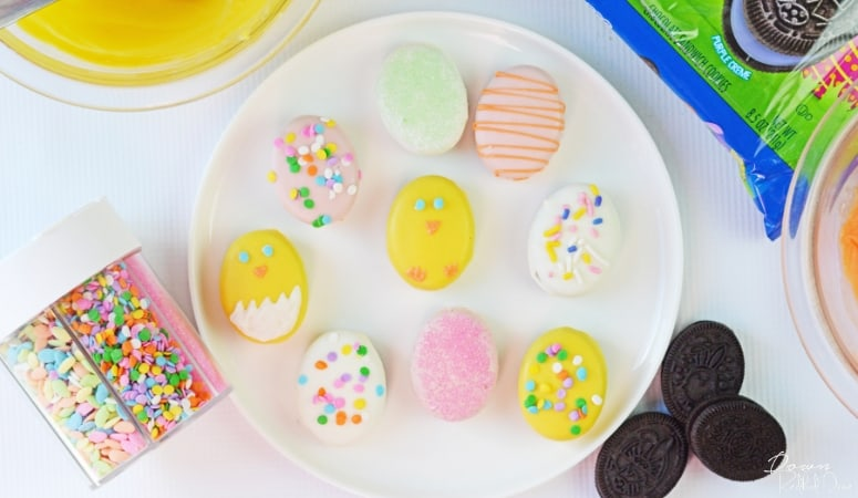 Easter Egg Oreos | Easy Easter Treat