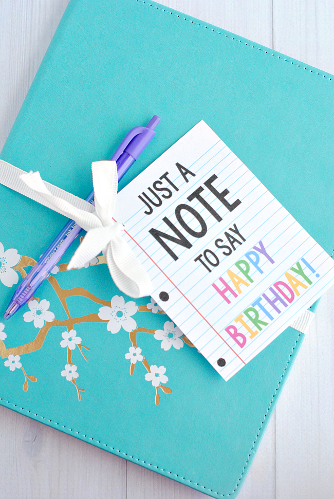 "Cute & Creative ""Note"" Gift Idea"