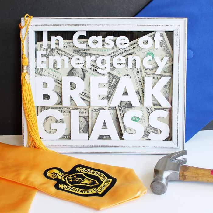 In Case of Emergency Break the Glass