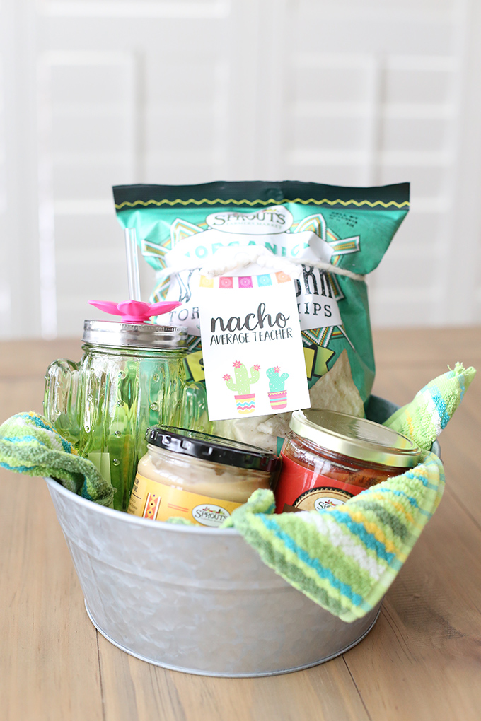 Nacho Average Teacher Gift Basket