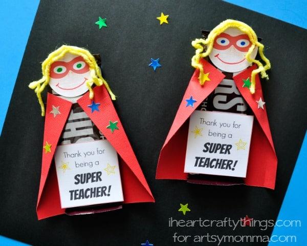 Superhero Candy Bar Printable