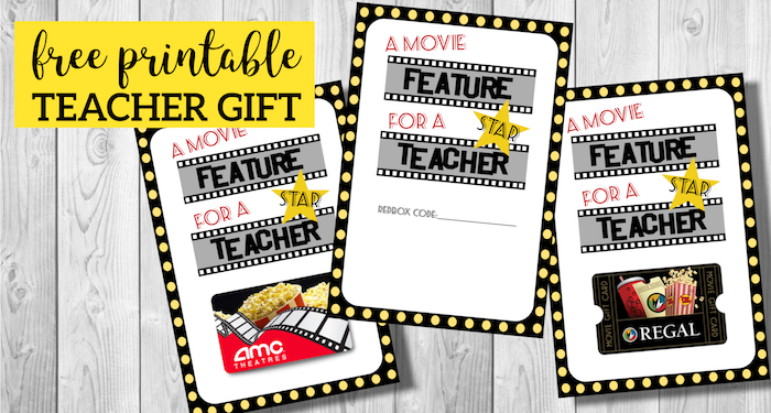 Move Gift Card Printable