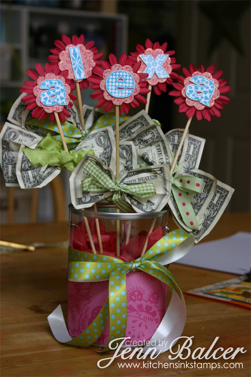 Girly Money Bouquet