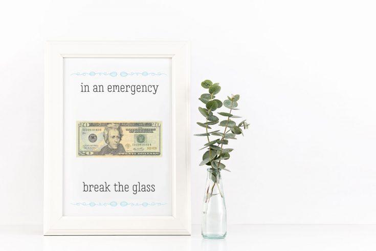 """In An Emergency"" Graduation Gift"