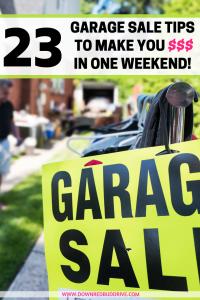 Garage Sale Tips
