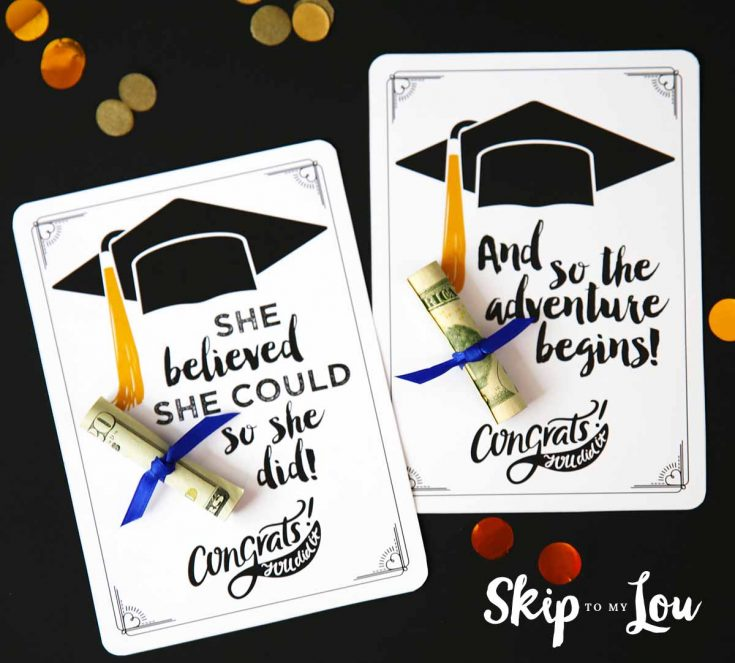 Free Printable Graduation Cards with Positive Quotes