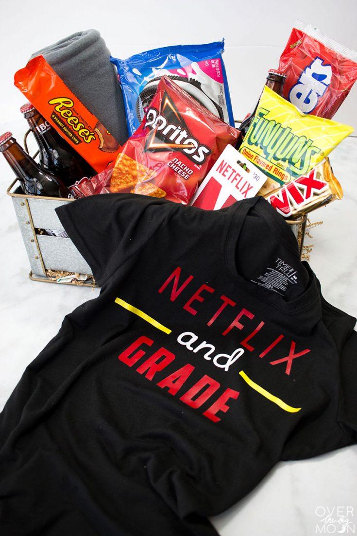 Netflix Teacher Gift Basket