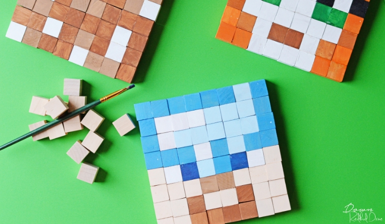Minecraft Block Craft | Easy 3D DIY Minecraft Art