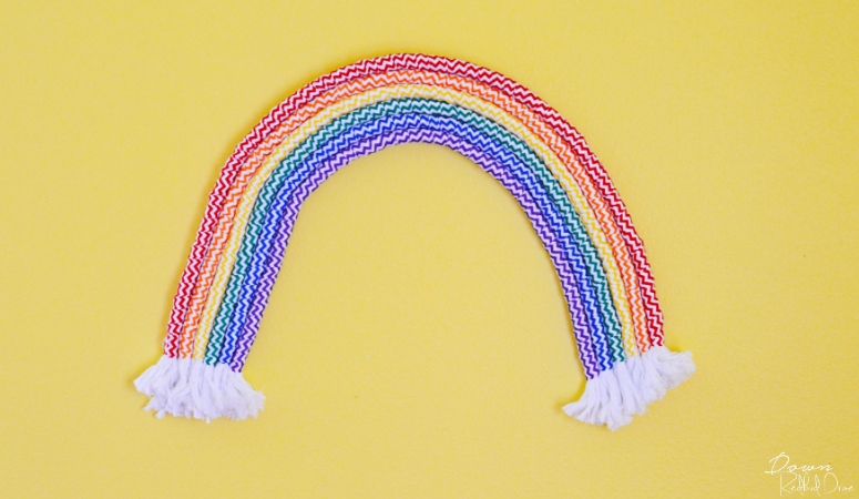 Rainbow Art DIY | Easy Wall Art Tutorial