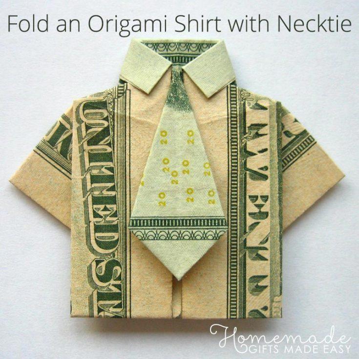 Money Origami Shirt