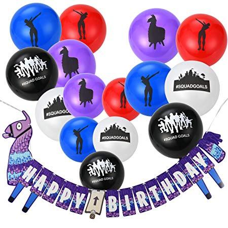 Banner & Balloons Kit