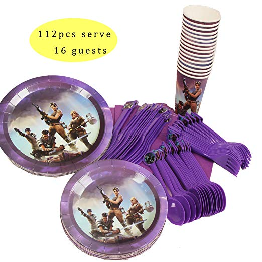Fortnite Plates, Cups & Cutlery