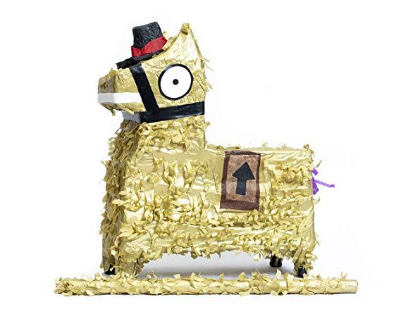 Golden Loot Llama Pinata