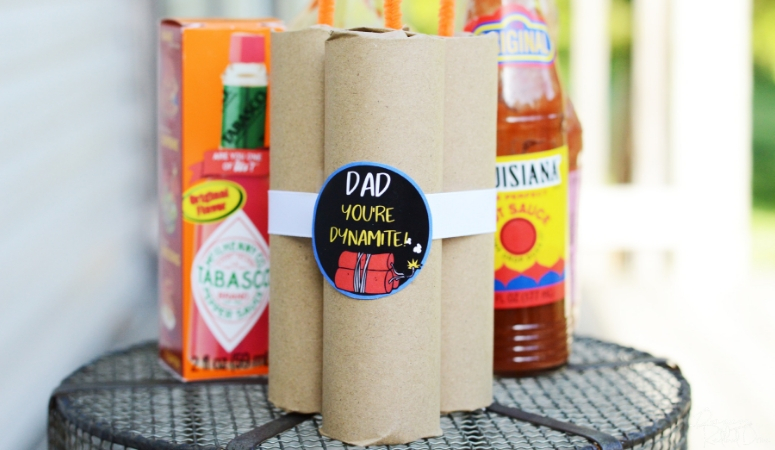 Father's Day Hot Sauce Gift DIY