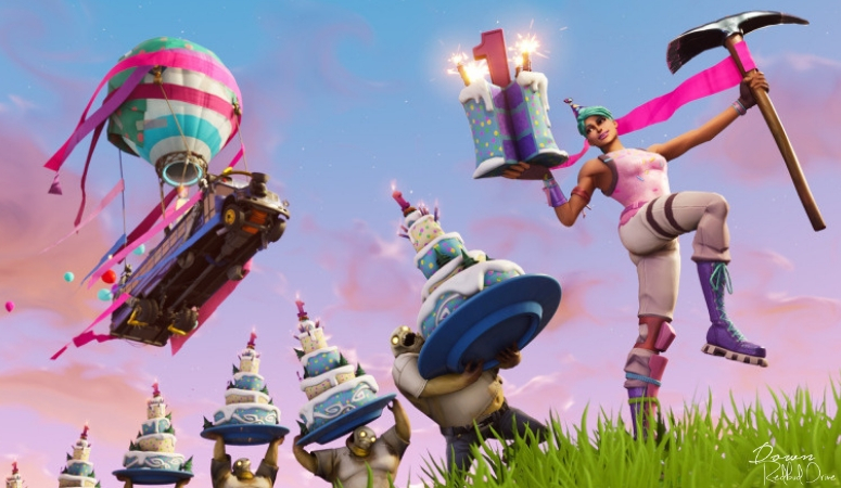 fortnite birthday supplies