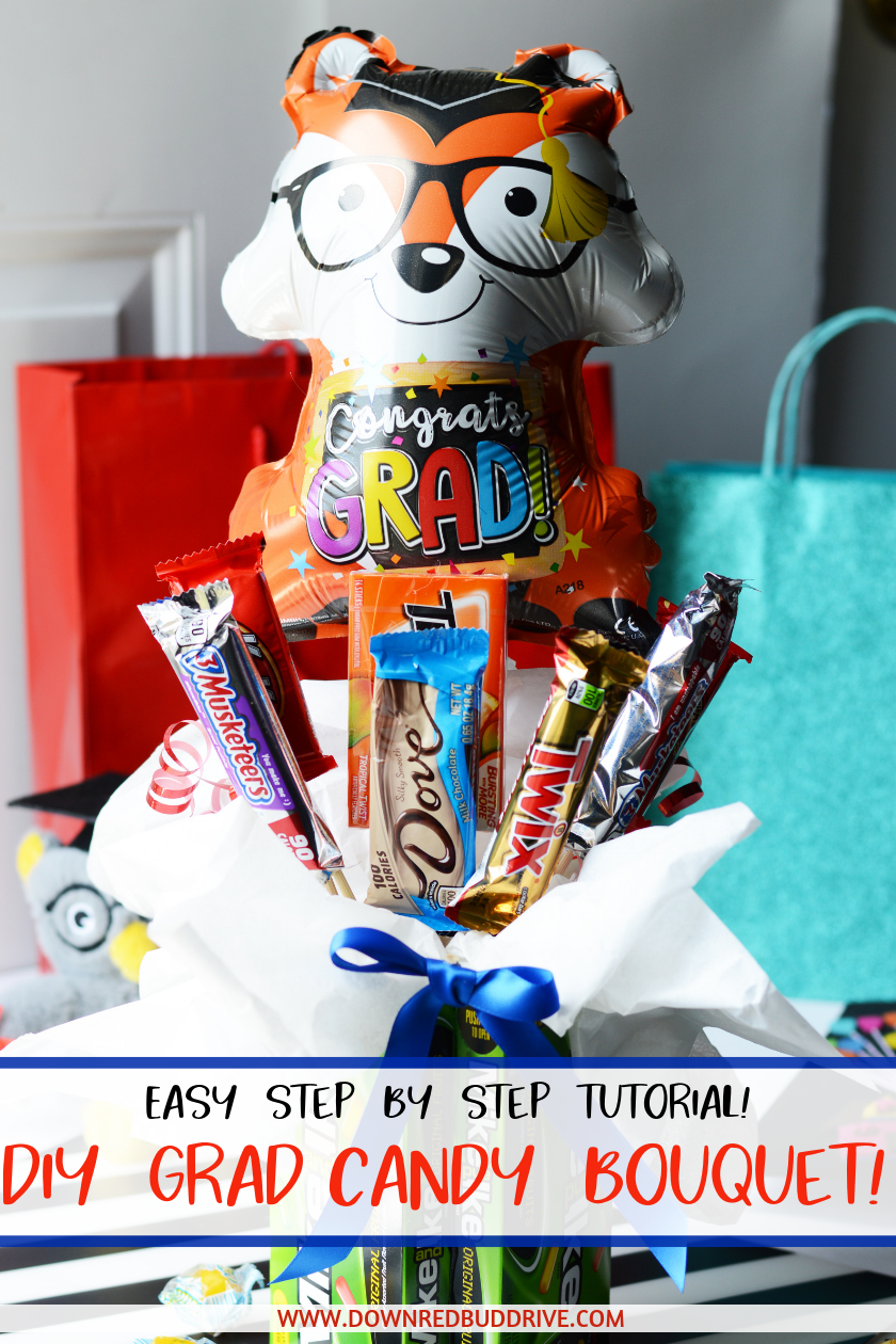 DIY Graduation Candy Bouquet Pinterest