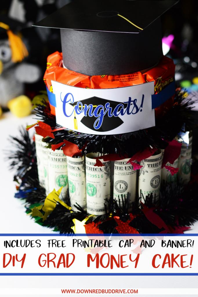 Graduation Money Cake pinterest