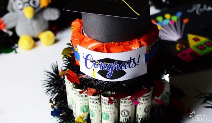 Graduation Money Cake | Free Printables