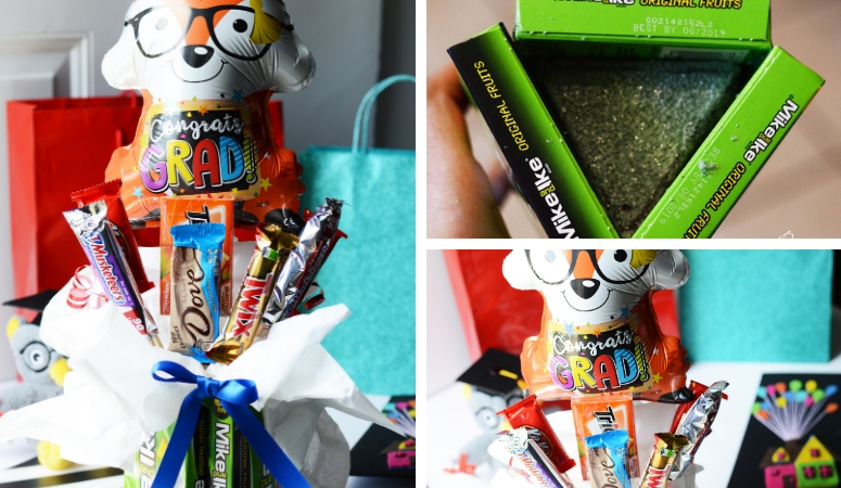 DIY Graduation Candy Bouquet