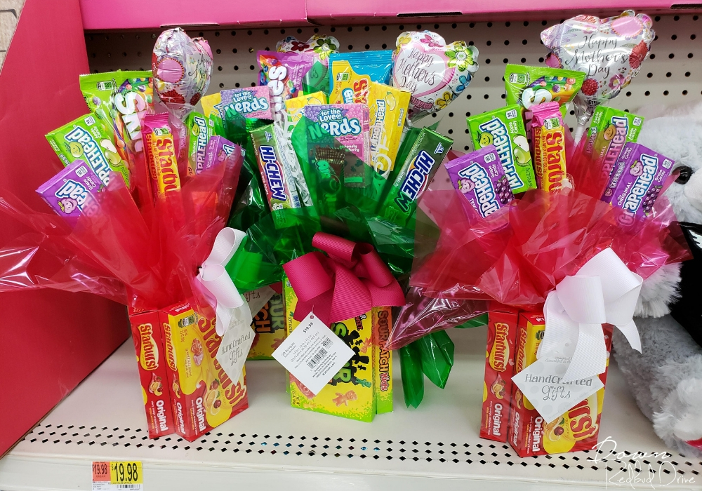 candy bouquets from walmart