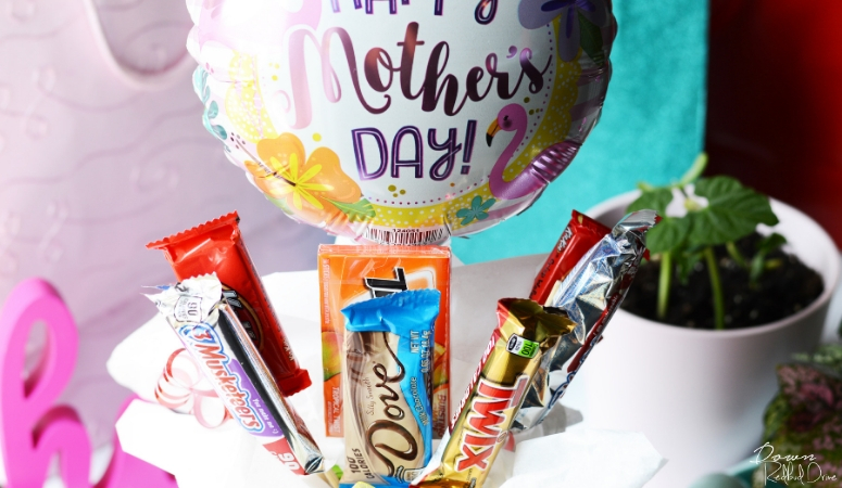 Mother's Day Candy Bouquet DIY