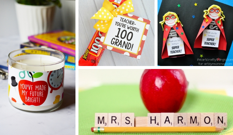 41 Teachers Gifts DIY