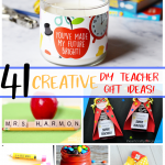 Teachers Gifts DIY Pinterest image