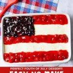 american flag cheesecake