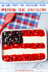 American Flag Cheesecake pinterest
