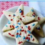 Patriotic Sprinkle Cookies