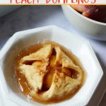 old fashioned peach dumplings recipe