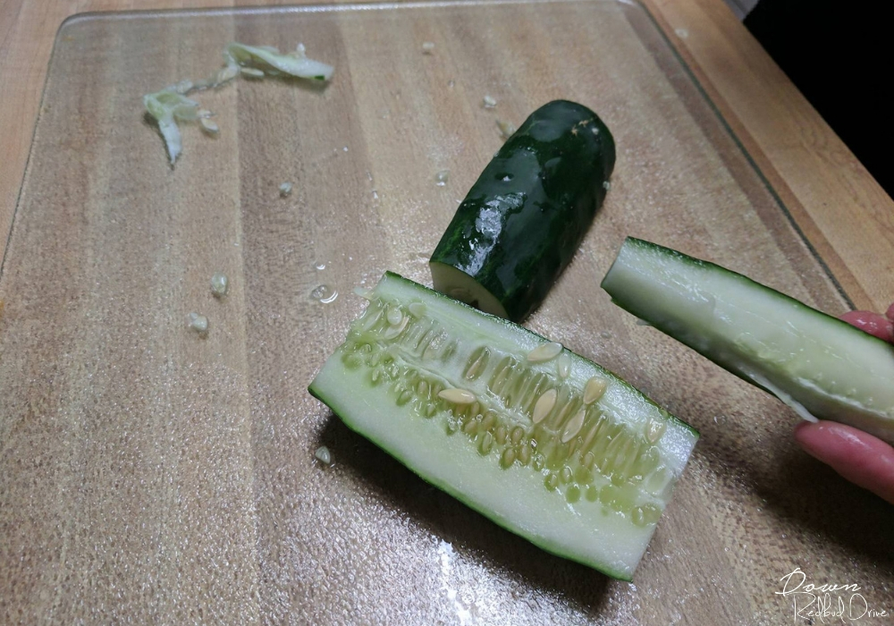cucumbers with too many seeds